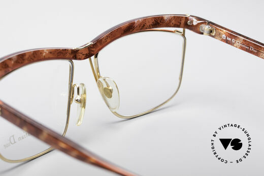 Christian Dior 2552 90er Vintage Brille, Qualitätsfassung kann beliebig verglast werden, Passend für Damen