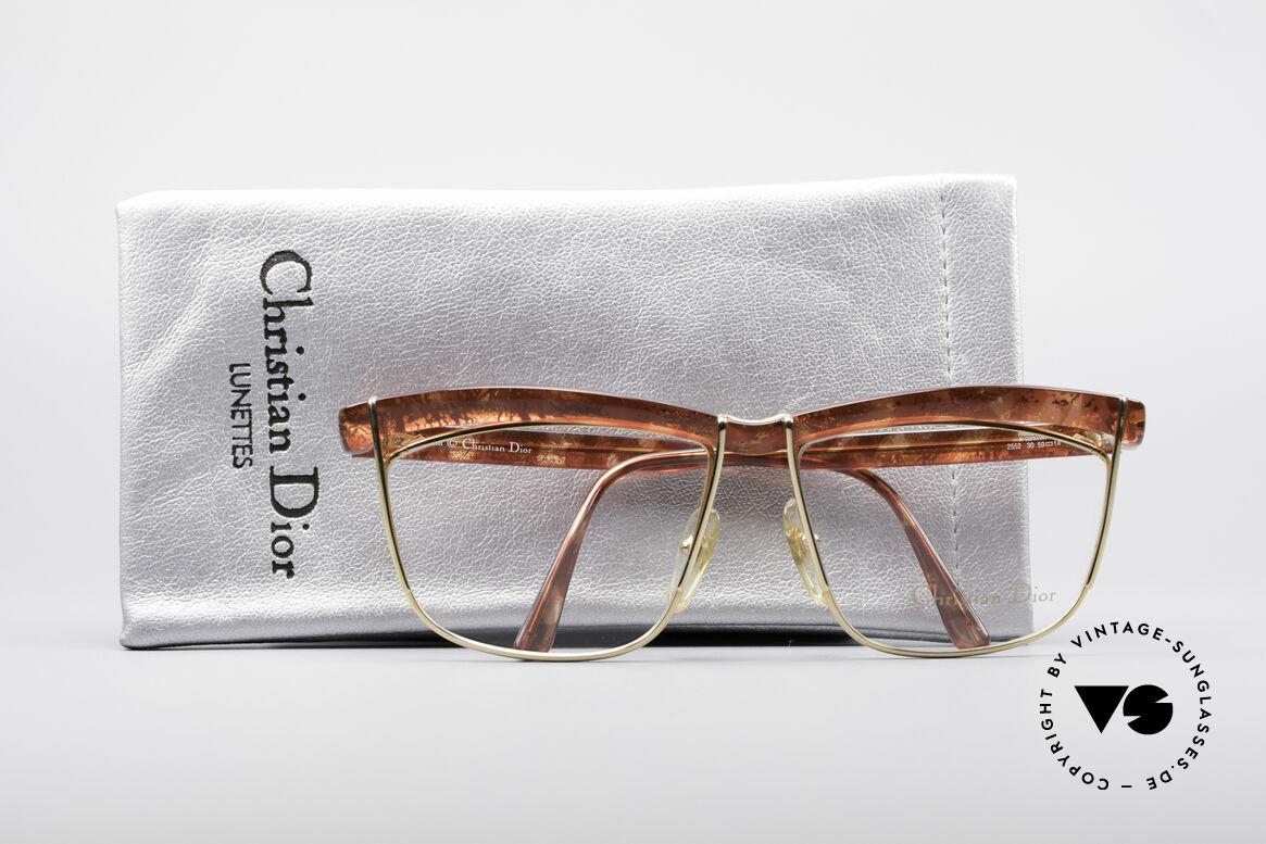 Christian Dior 2552 90er Vintage Brille, Größe: large, Passend für Damen