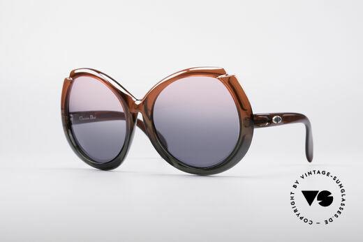 Christian Dior D11 Riesige 70er Brille Details