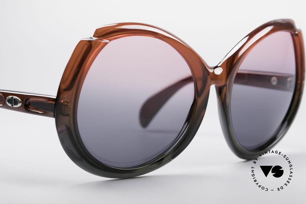Christian Dior D11 Riesige 70er Brille