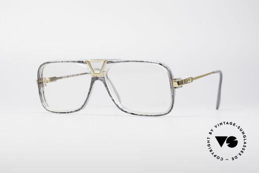 Cazal 635 Jay-Z HipHop Vintage Brille Details