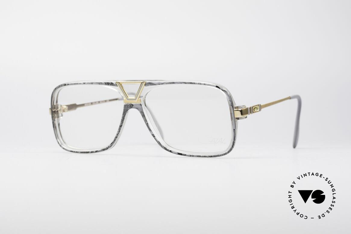 Cazal 635 Jay-Z HipHop Vintage Brille, 80er Old School Run DMC Hip Hop Szene Brille, Passend für Herren