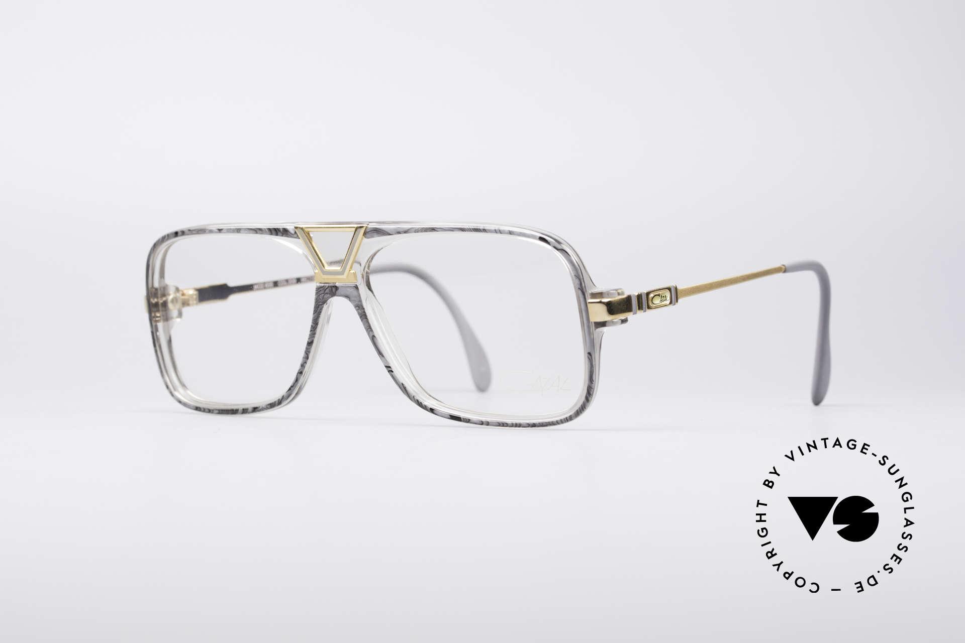Cazal 635 Jay-Z HipHop Vintage Brille, echte Rarität von 1986 (FRAME W.GERMANY), Passend für Herren
