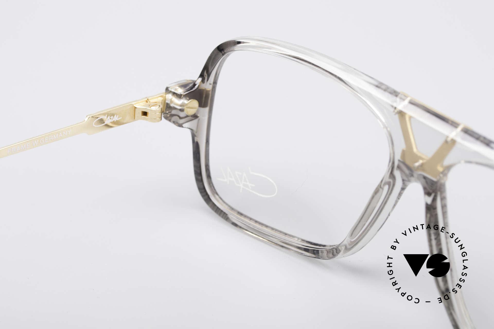 Cazal 635 Jay-Z HipHop Vintage Brille, Musiker 'Jay-Z' trägt trug dieses Modell in 2011, Passend für Herren