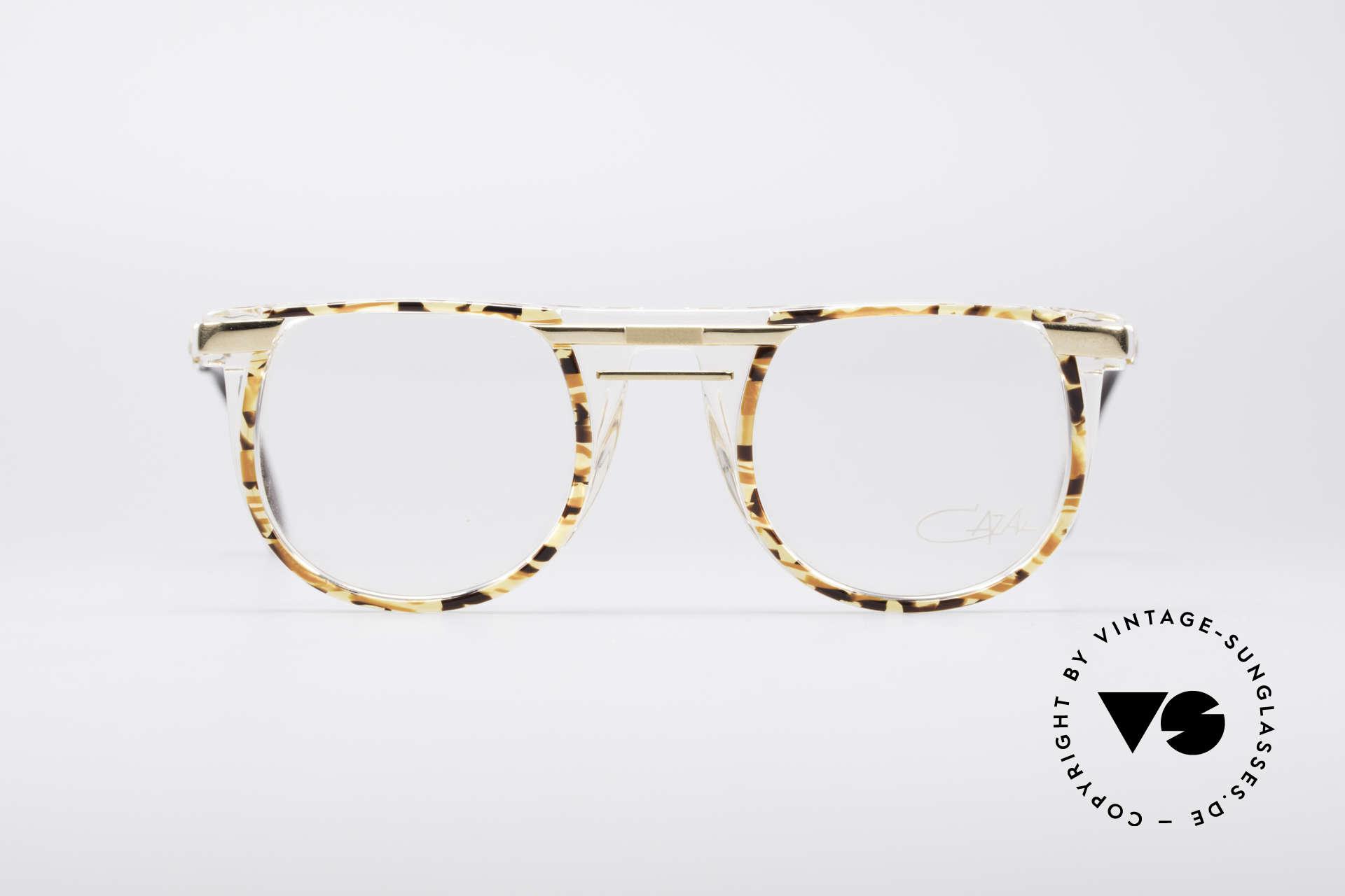 Cazal 647 90er Vintage Designerbrille, außergewöhnliches Modell mit tollem Farbkonzept, Passend für Herren und Damen