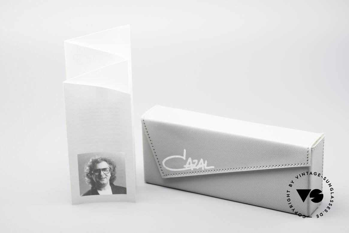 Cazal 647 90er Vintage Designerbrille, Demogläser können durch optische ersetzt werden, Passend für Herren und Damen