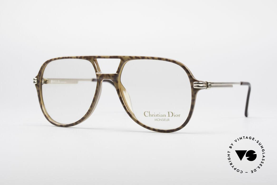 Christian Dior 2301 80er Optyl Brille Monsieur, vintage Chr. Dior Herren-Brillenfassung von 1985, Passend für Herren