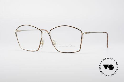 Christian Dior 2600 Besondere 90er Brille Details