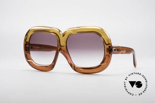 Christian Dior D10 Riesige 70er Brille Details