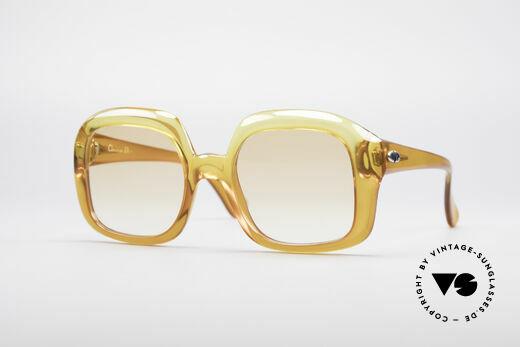 Christian Dior 1206 70er Vintage Brille Details