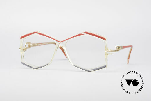 Cazal 180 80er Designerbrille Details