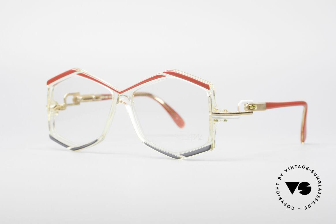 Cazal 180 80er Designerbrille, ein außergewöhnlicher Hingucker - typisch Cazal!, Passend für Damen