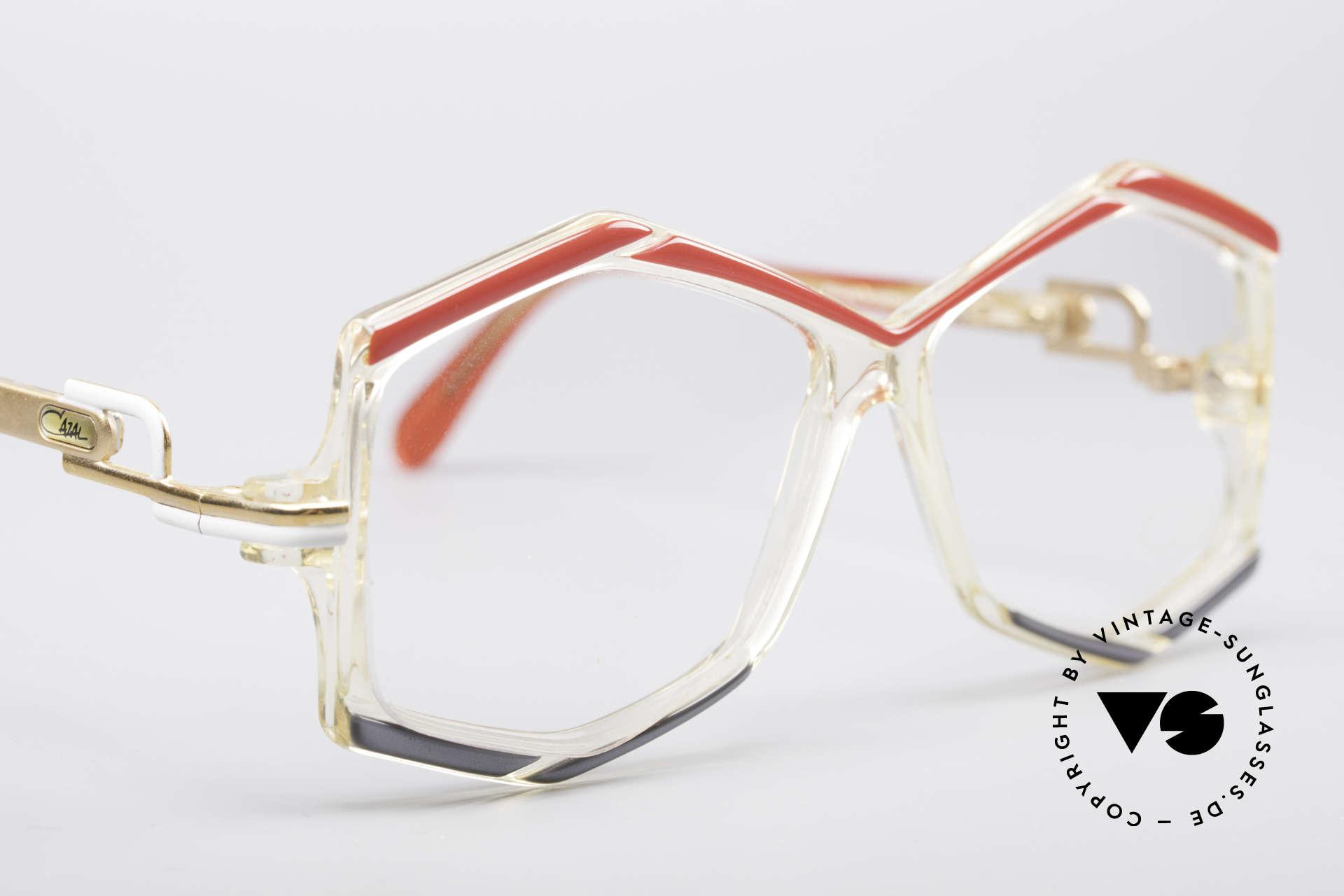 Cazal 180 80er Designerbrille, Demogläser sollten durch optische ersetzt werden, Passend für Damen