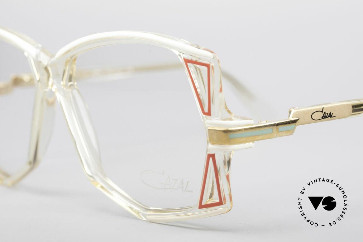 Cazal 172 Kristallklare 80er Brille, ungetragen (wie alle unsere alten vintage CAZALS), Passend für Damen