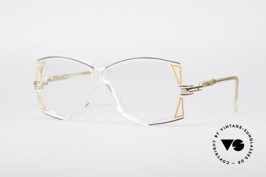 Cazal 172 Kristallklare 80er Brille Details
