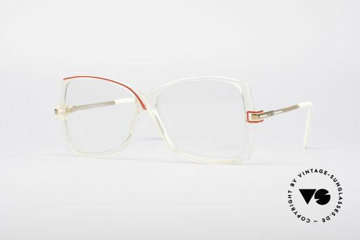 Cazal 175 Echt 80er Vintage Brille Details