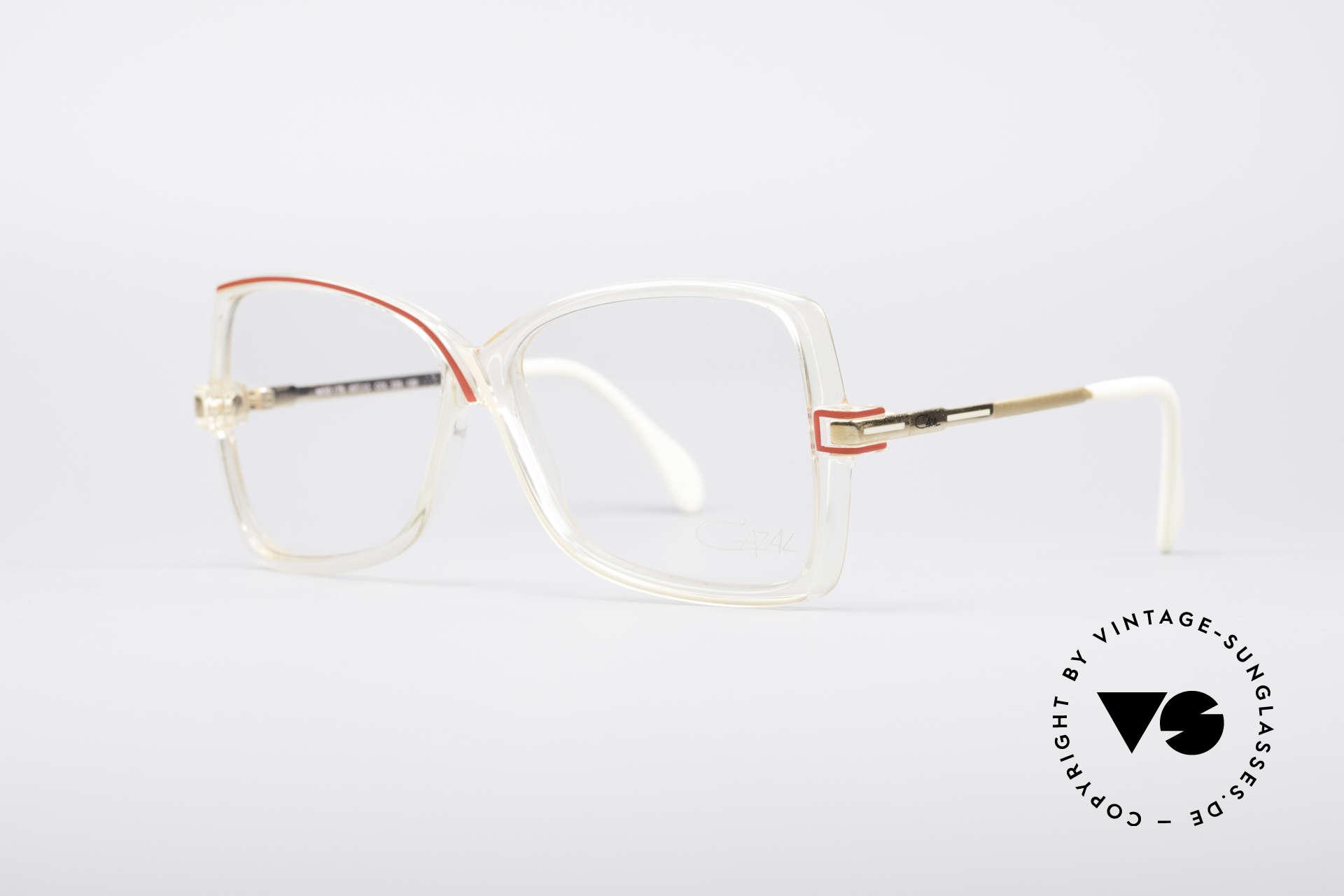 Cazal 175 Echt 80er Vintage Brille, grandioses Designerstück von Mr. CAri ZALloni, Passend für Damen