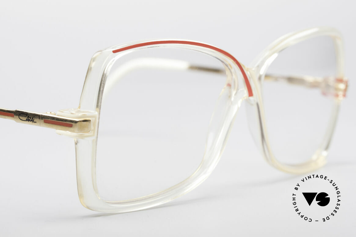 Cazal 175 Echt 80er Vintage Brille, KEINE Retromode, sondern ein Unikat von 1985, Passend für Damen