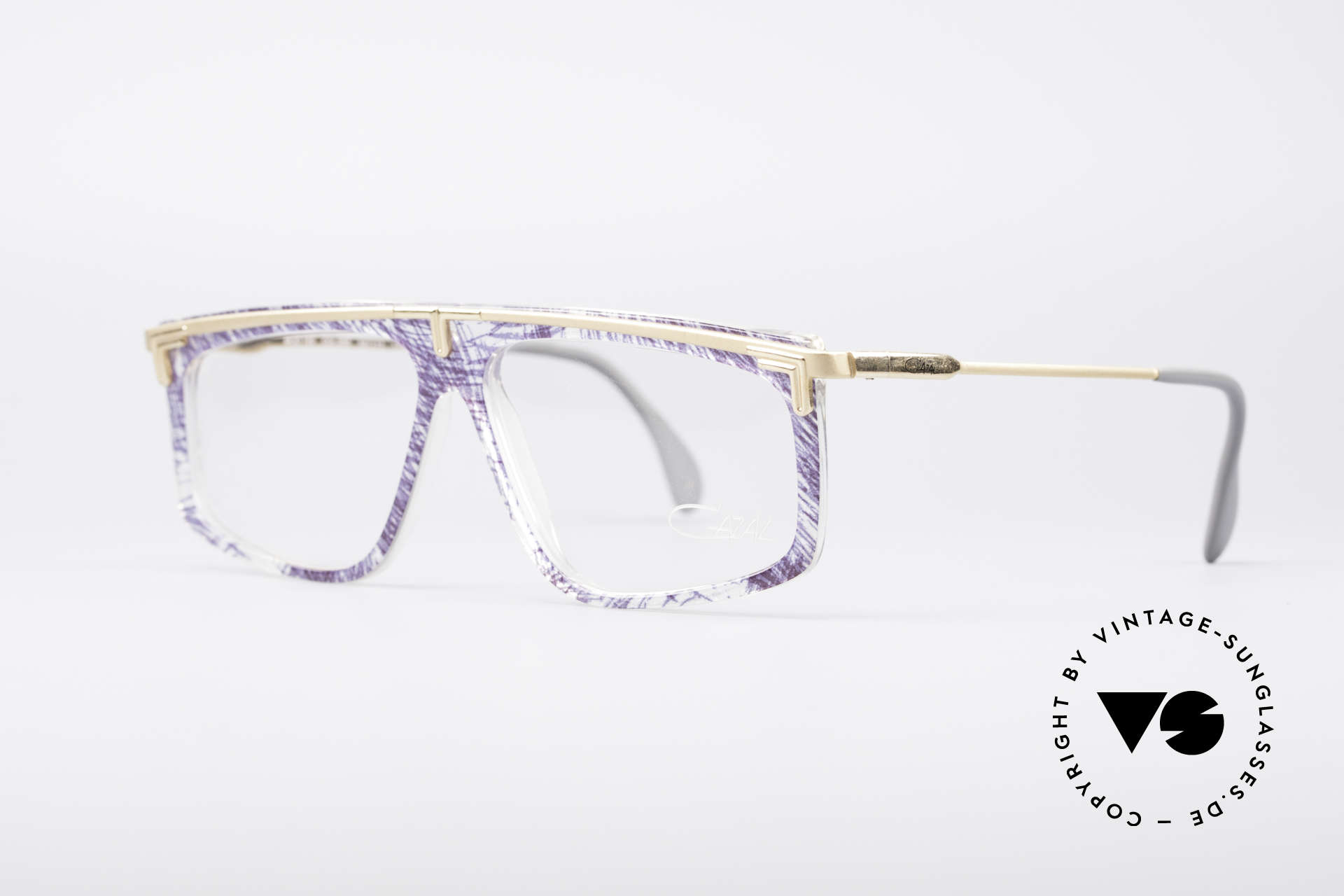 Cazal 190 Old School Hip Hop Brille, altes WEST GERMANY Original & KEINE Retrobrille!, Passend für Herren