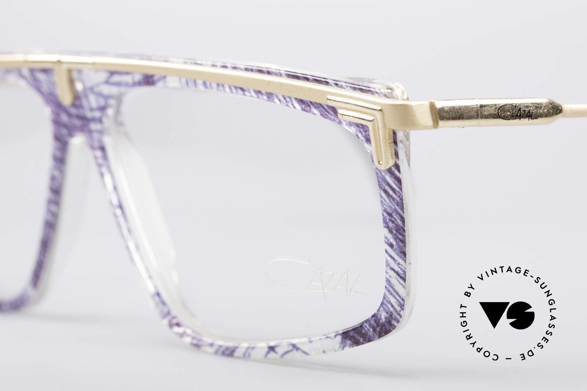 Cazal 190 Old School Hip Hop Brille, ungetragen (wie alle unsere seltenen vintage Cazals), Passend für Herren