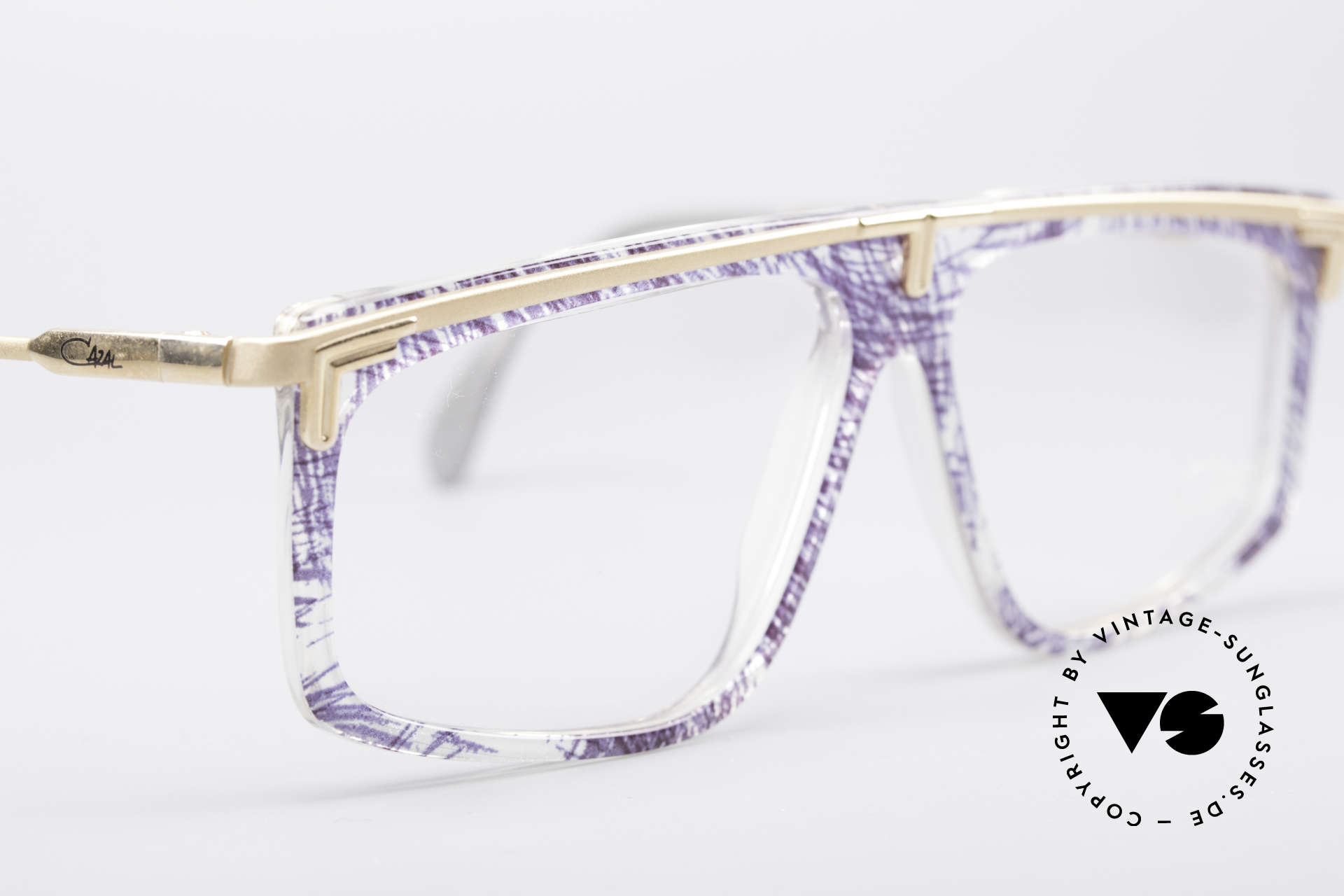 Cazal 190 Old School Hip Hop Brille, heute als HipHop Brille / Old School Brille bezeichnet, Passend für Herren