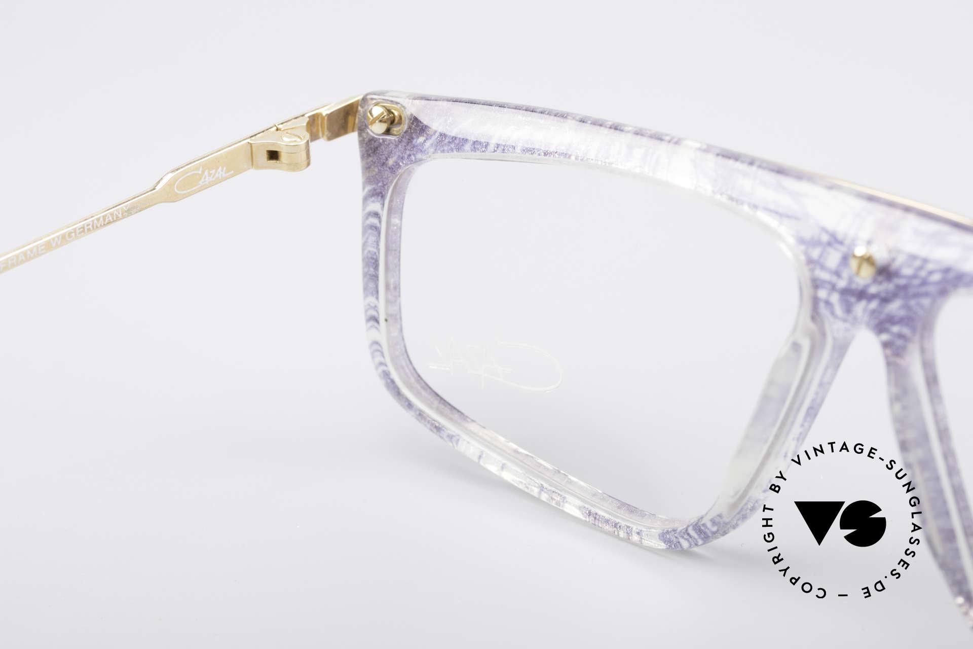 Cazal 190 Old School Hip Hop Brille, Fassung (M Gr. 57/12) kann beliebig verglast werden, Passend für Herren