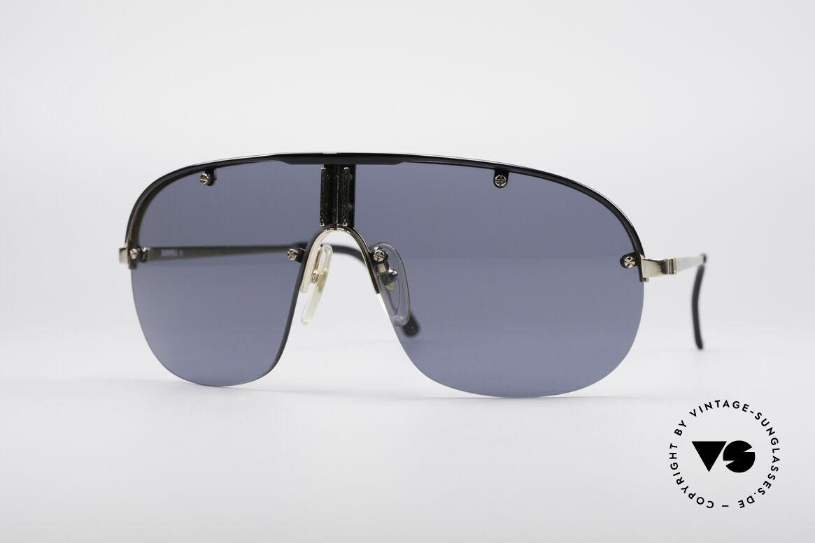 Dunhill 6102 90er Herren Sonnenbrille, sehr stilvolle Herren-Sonnenbrille von Alfred Dunhill, Passend für Herren