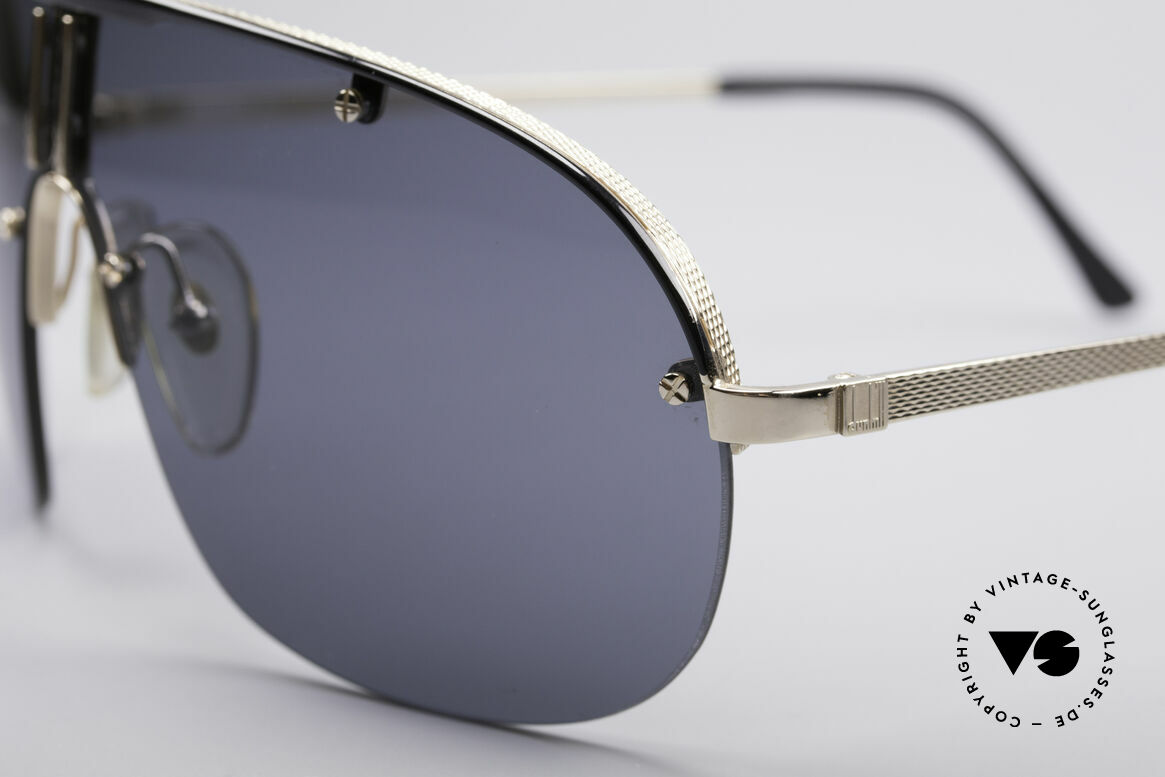 Dunhill 6102 90er Herren Sonnenbrille, herausragende Qualität (Fassung ist hartvergoldet), Passend für Herren