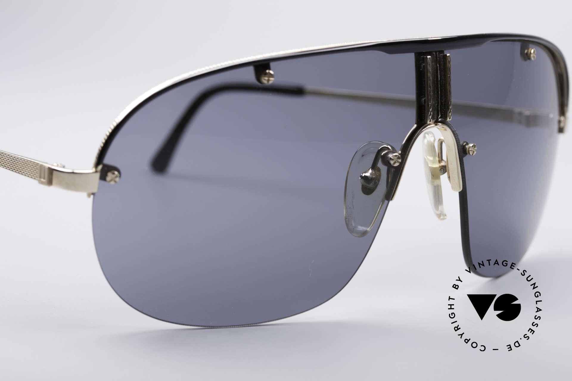 Dunhill 6102 90er Herren Sonnenbrille, eine Kombination aus klassischer Eleganz & Lifestyle, Passend für Herren
