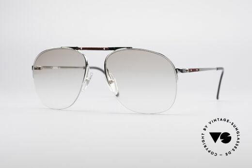 Dunhill 6022 80er Gentleman Brille Details