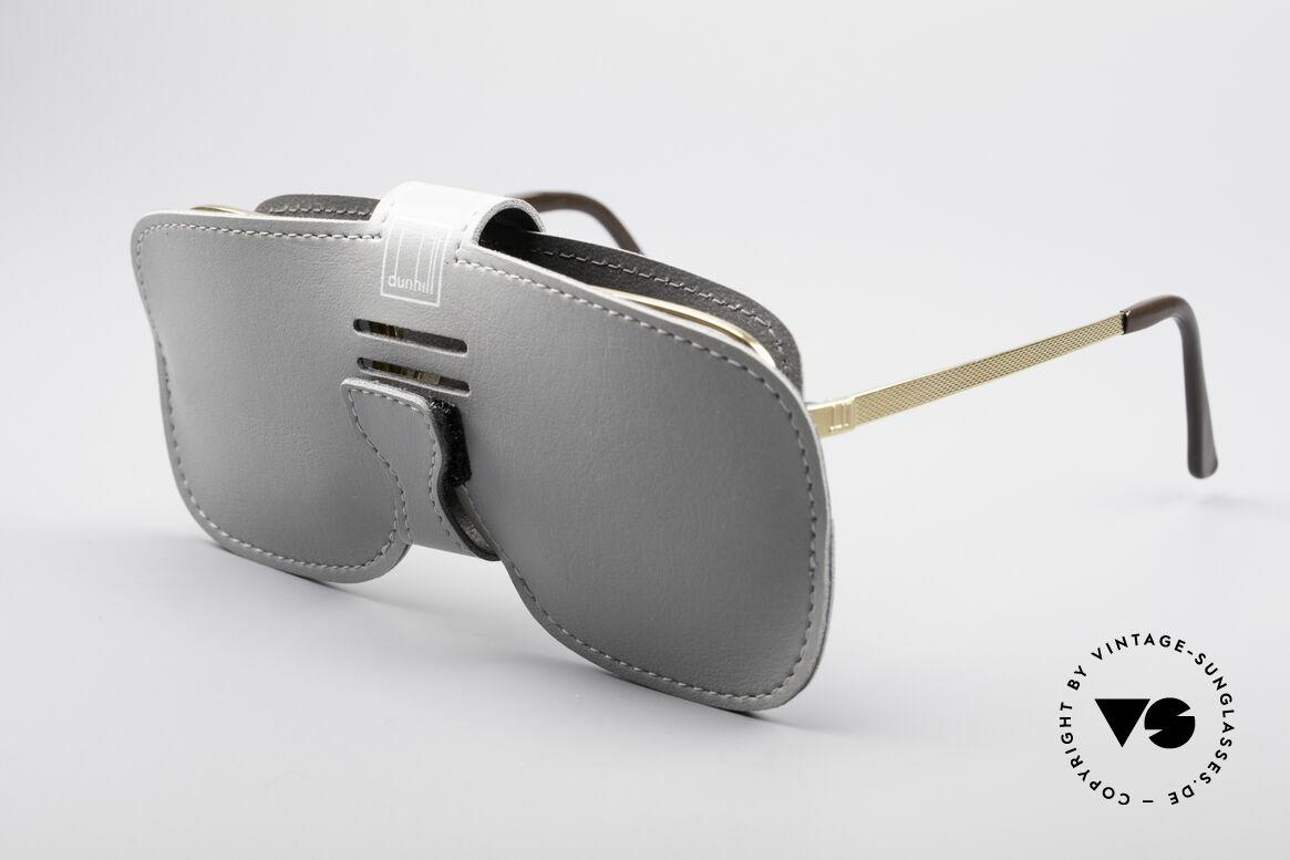 Dunhill 6073 Vergoldete 80er Brille, die Fassung kann beliebig optisch verglast werden, Passend für Herren