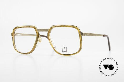 Dunhill 6073 Vergoldete 80er Brille Herren Details