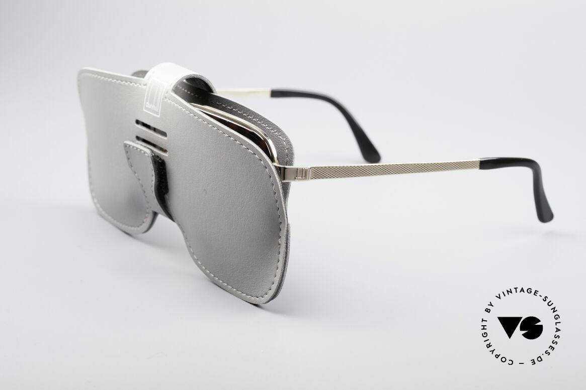 Dunhill 6073 Vergoldete 80er Herrenbrille, diese Fassung kann beliebig optisch verglast werden, Passend für Herren