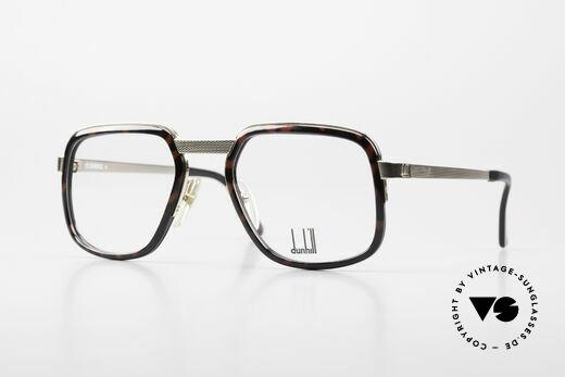 Dunhill 6073 Vergoldete 80er Herrenbrille Details
