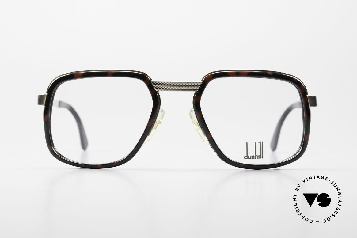 Dunhill 6073 Vergoldete 80er Herrenbrille, sehr markante Alfred Dunhill vintage Brille von 1989, Passend für Herren