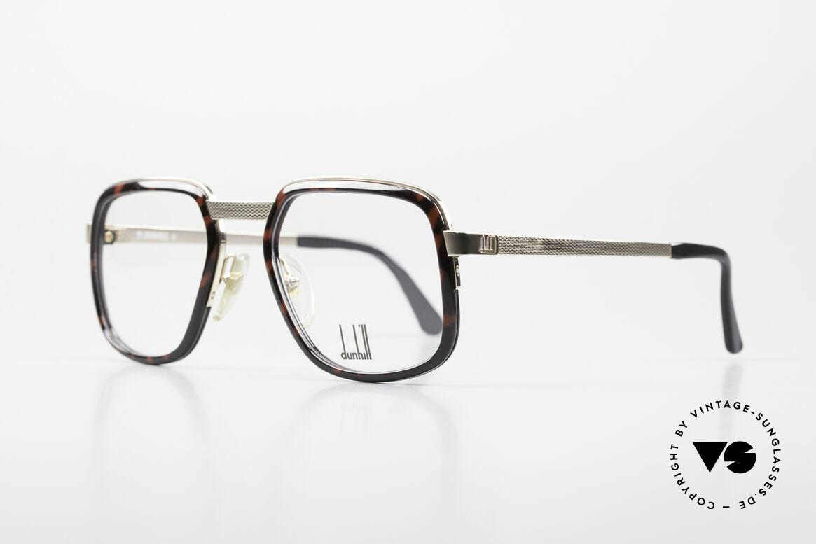 Dunhill 6073 Vergoldete 80er Herrenbrille, Fassung ist hartvergoldet & für die Ewigkeit gemacht, Passend für Herren