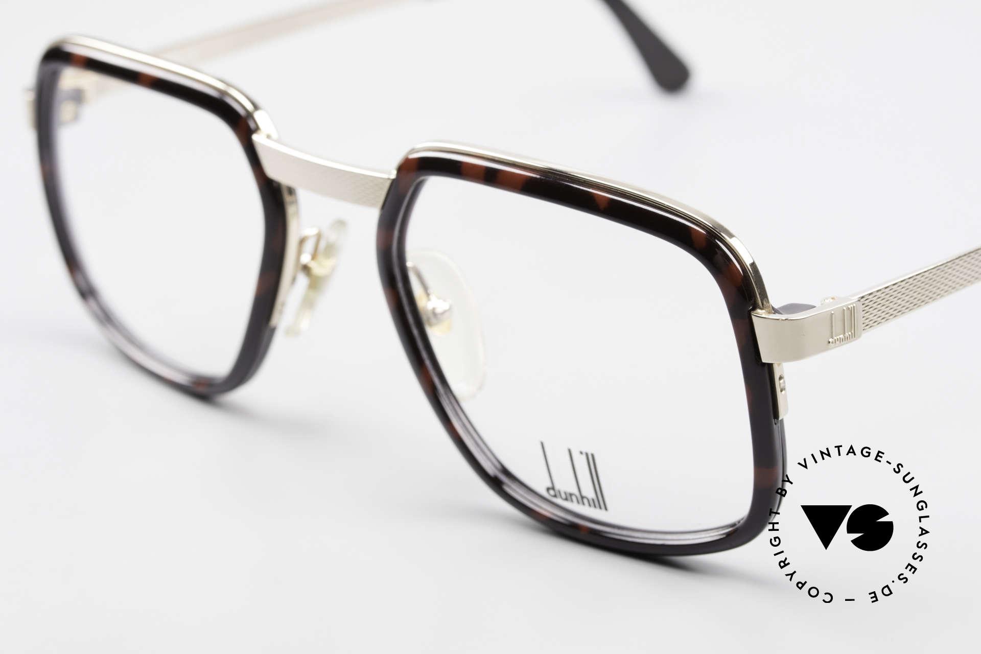 Dunhill 6073 Vergoldete 80er Herrenbrille, britische Eleganz & 'made in Germany' in Kombination, Passend für Herren
