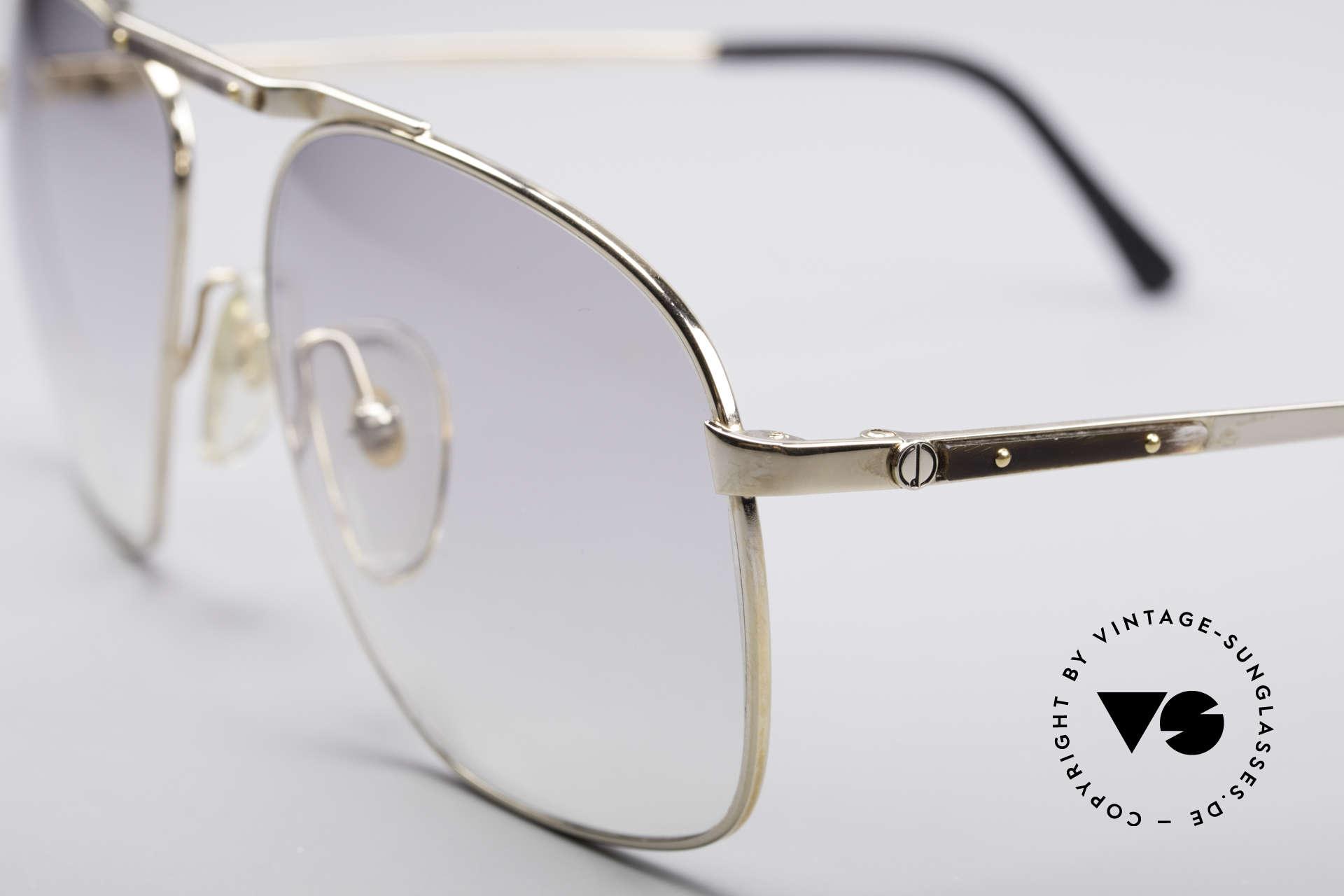 Dunhill 6046 80er Luxus Sonnenbrille, ein absoluter Klassiker für den vornehmen Gentleman, Passend für Herren