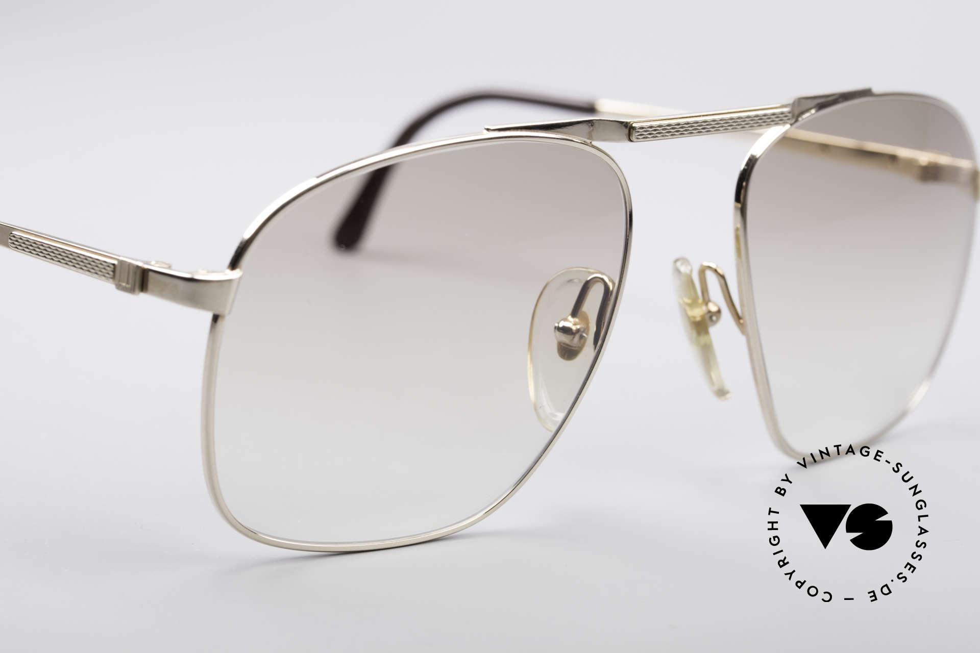 Dunhill 6046 80er Luxus Herrenbrille, ungetragen (wie alle unsere vintage Luxus-Sonnenbrillen), Passend für Herren