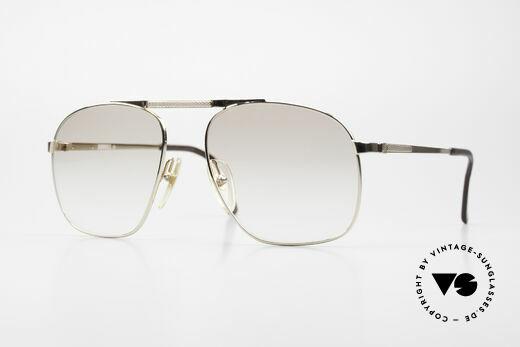 Dunhill 6046 80er Herrenbrille Vergoldet Details