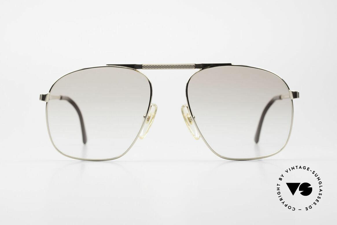 Dunhill 6046 80er Herrenbrille Vergoldet, extrem elegante Dunhill Herren-Sonnenbrille von 1987, Passend für Herren