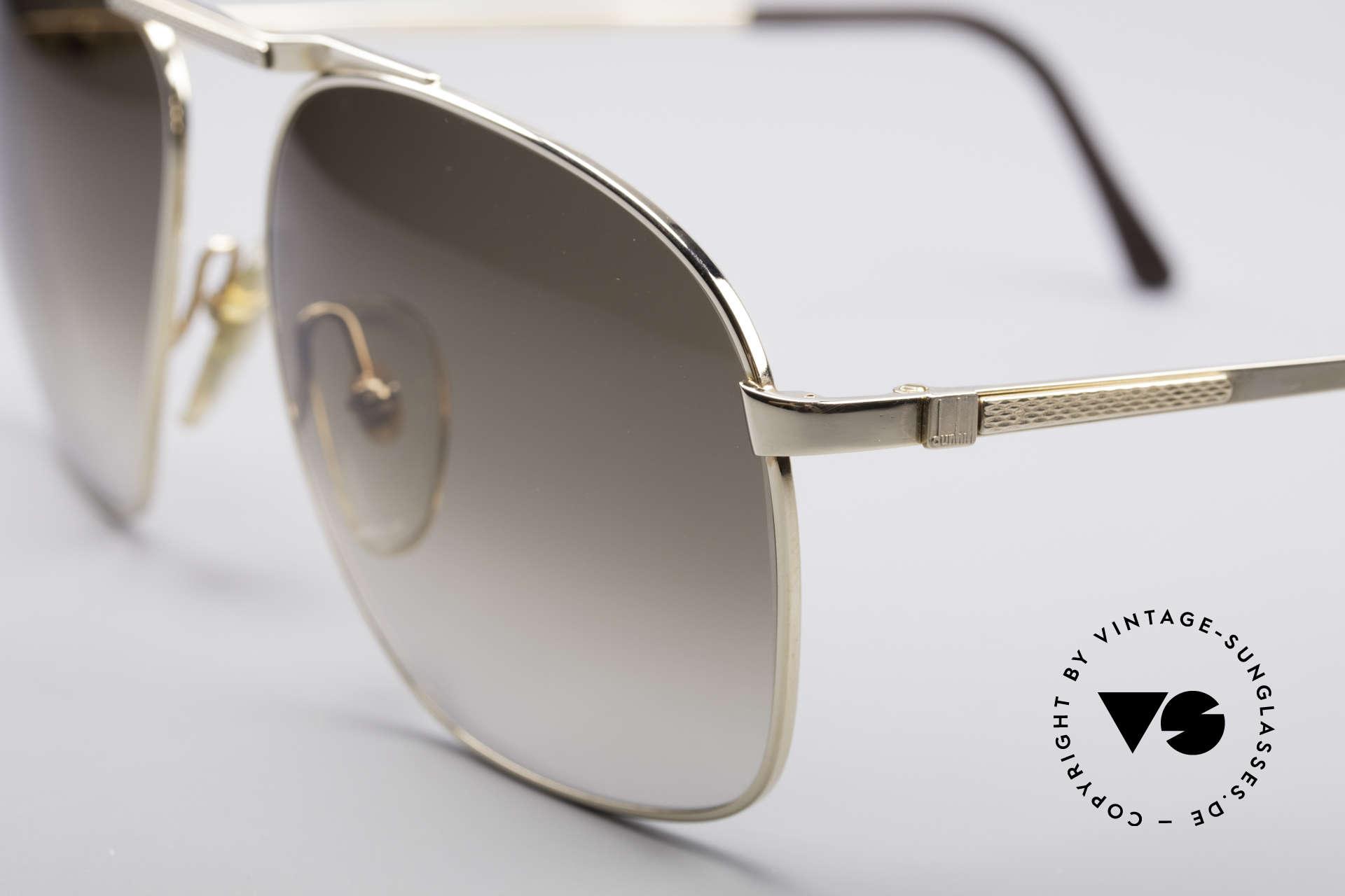 Dunhill 6046 Alte 80er Luxus Herrenbrille, ein absoluter KLASSIKER für den vornehmen Gentleman, Passend für Herren