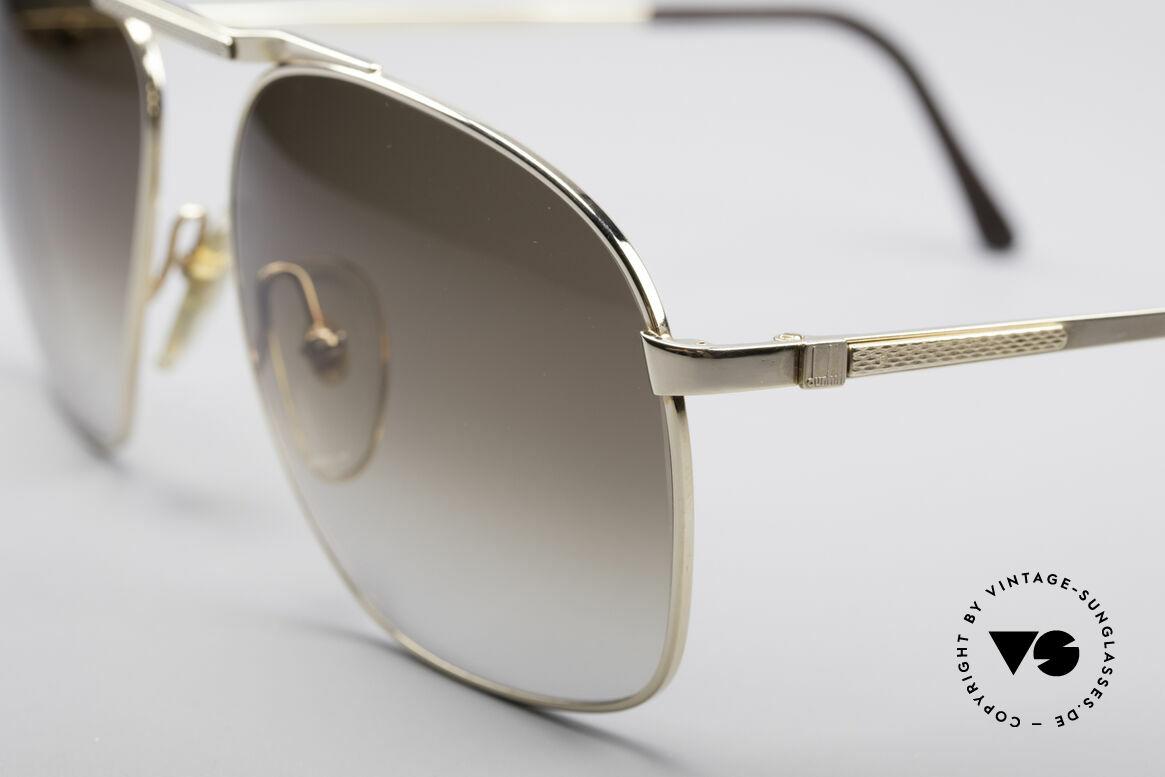 Dunhill 6046 80er Luxus Herrenbrille, ein absoluter Klassiker für den vornehmen Gentleman, Passend für Herren
