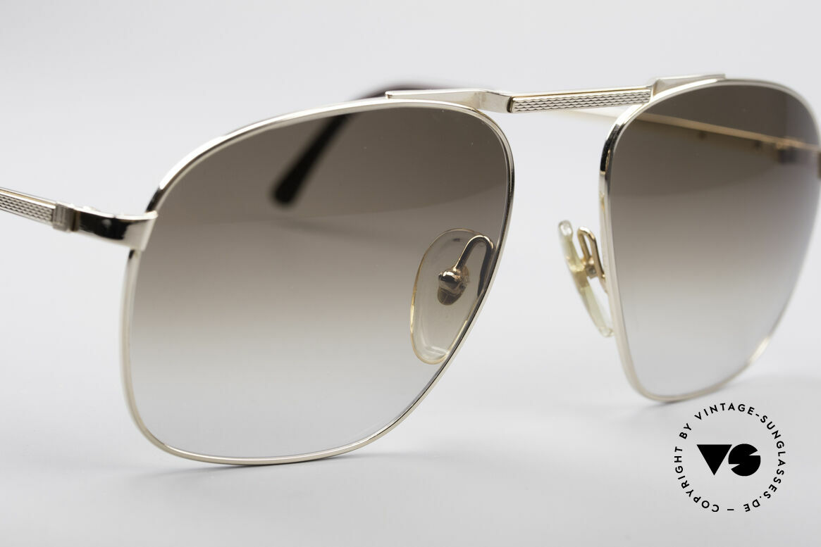 Dunhill 6046 Alte 80er Luxus Herrenbrille, ungetragen; wie alle unsere vintage Luxus-Sonnenbrillen, Passend für Herren