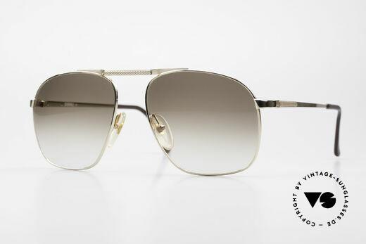 Dunhill 6046 Alte 80er Luxus Herrenbrille Details