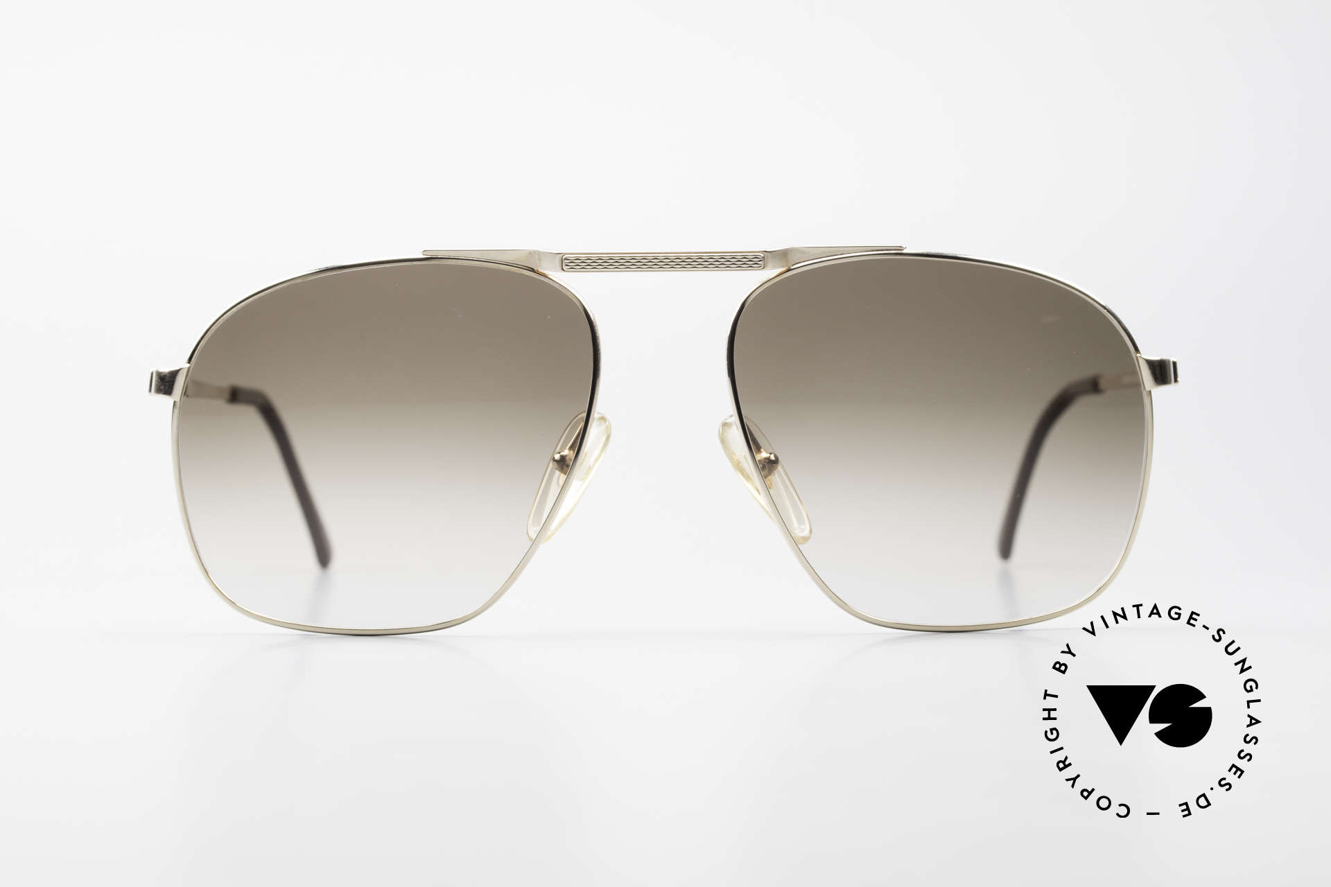 Dunhill 6046 Alte 80er Luxus Herrenbrille, extrem elegante Dunhill Herren-Sonnenbrille von 1987, Passend für Herren
