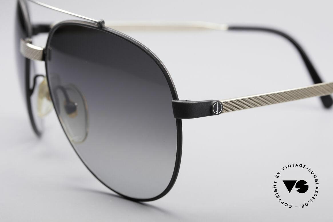 Dunhill 6023 80er Luxus Sonnenbrille Herren, enorm hochwertiger & sehr eleganter Klassiker, Passend für Herren