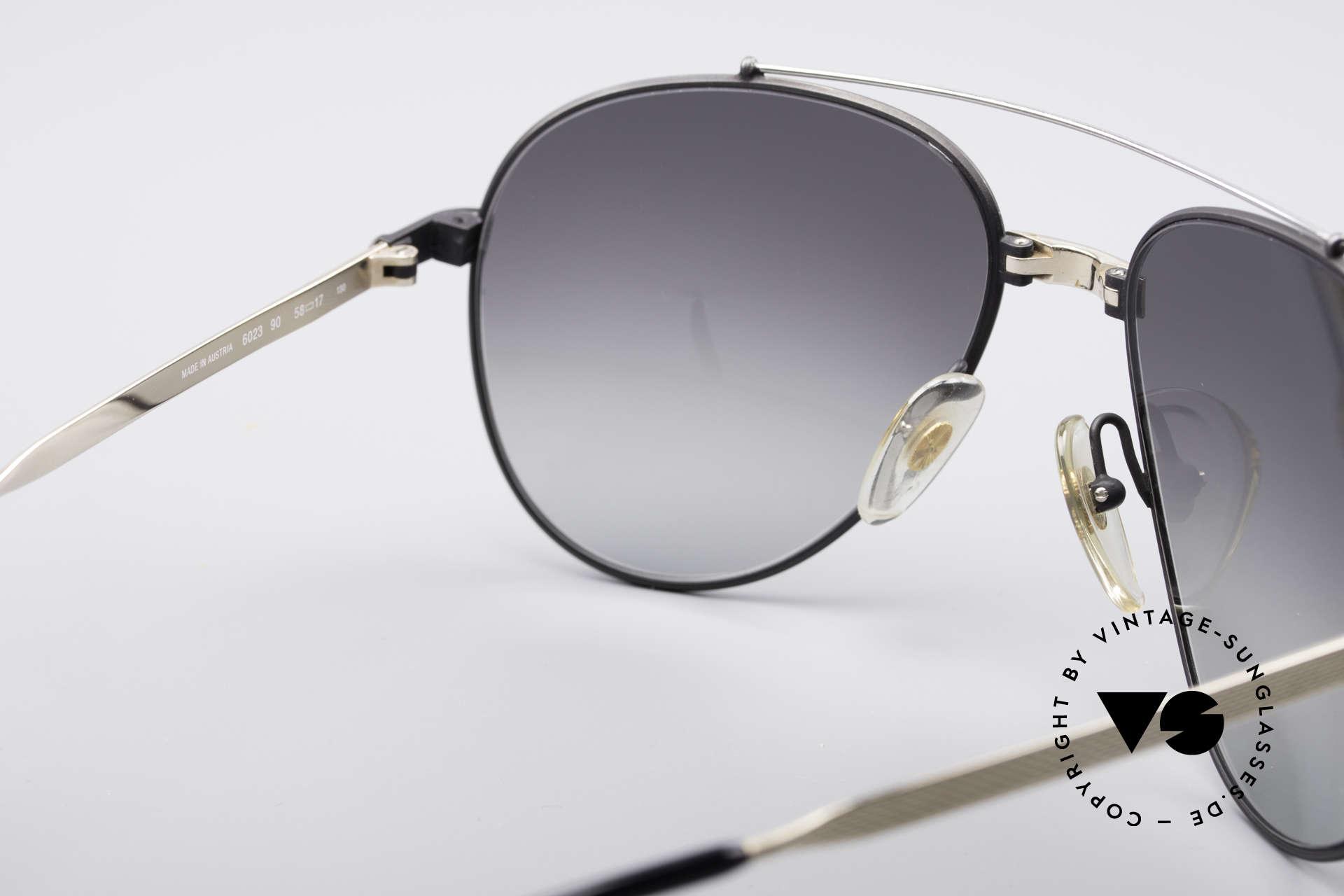 Dunhill 6023 80er Luxus Sonnenbrille Herren, KEIN retro, ein kostbares 35 Jahre altes Original, Passend für Herren