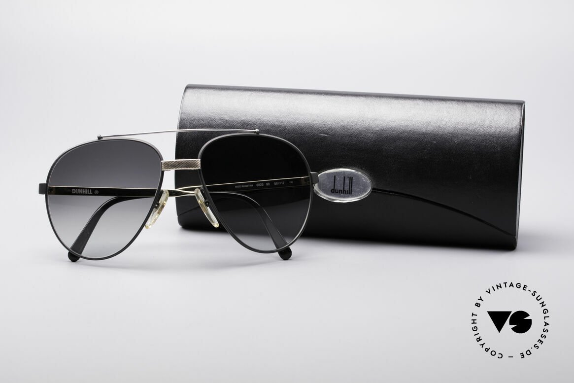 Dunhill 6023 80er Luxus Sonnenbrille Herren, Größe: variabel, Passend für Herren