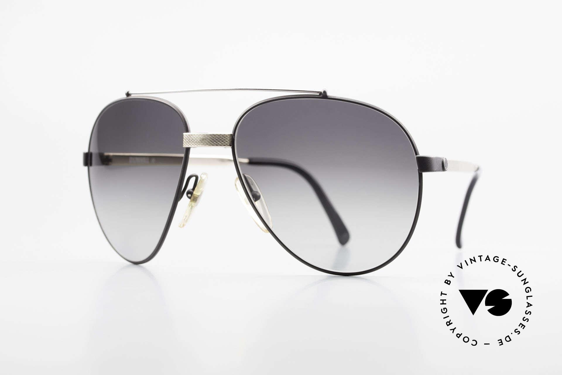 Dunhill 6023 80er Luxus Sonnenbrille Herren, stilvolle Dunhill vintage Sonnenbrille von 1983, Passend für Herren